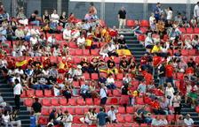 VOX i SCC neguen haver repartit entrades per la inauguració dels Jocs Mediterranis