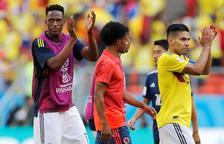 Un gol de Yerry Mina mete a Colombia en octavos de final