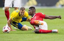 Forsberg liquida a Suiza y allana el camino de Suecia hacia los cuartos de final (1-0)