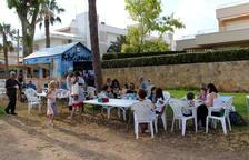 Tret de sortida a la Bibliomar, al Parc Voramar d'Altafulla
