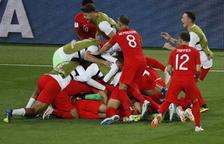 Inglaterra elimina a la Colòmbia de Yerry Mina en los penaltis (1-1 (3-4))