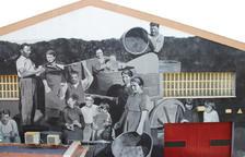 Un mural del artista Miquel Wert decorará la fachada de la fabrica de Vermuts Miró