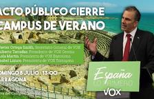Sesenta entidades y unos cien vecinos adheridos al manifiesto del CDR que rechaza el campus de VOX