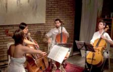 Alma Cello Quartet actuará este viernes en los jardines del Banco de España