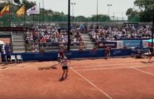 La prueba de tenis de los Juegos Mediterráneos, en una recopilación de imágenes