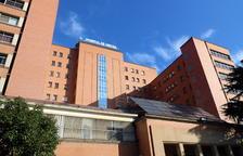 imatge de la façana de l'hospital Trueta de Girona.