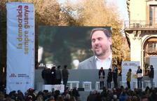 imagen de archivo del mitin central de ERC en la campaña del 21D.