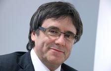 Imagen de archivo del expresidente de la Generalitat, Carles Puigdemont.
