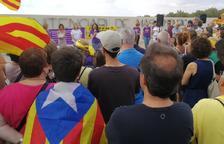 La prisión de Mas Enric reúne una concentración en apoyo a las presas políticas