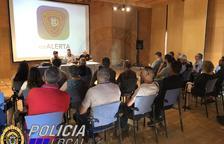 Imagen del acto de presentación de la aplicación evALERTA a los medios de comunicación.