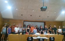 Imagen de la presentación del renacimiento de la plataforma 'No fem el CIM'.