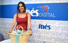 Jessica Rodríguez recull la cistella de Caprabo