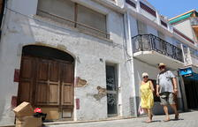 Las casas de la calle Sant Pere de Calafell 15 y 17, donde se ha constatado un foco de ratas.