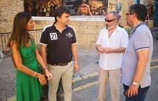 Representants de la Part Alta es reuneixen amb regidors municipals del PP