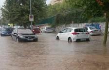El nivel del agua ha crecido muy rápidamente.