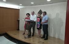 Imagen de la comparecencia de urgencia de Carles Pellicer.