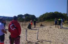 Descoberta a la platja Llarga de Tarragona una bomba de morter antiga