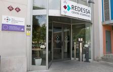 Una imatge d'arxiu de l'accés a les instal·lacions de Redessa.