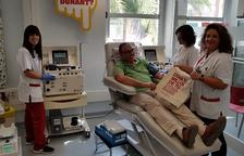 El Banc de Sang activa la recogida de plaquetas en el hospital Joan XXIII
