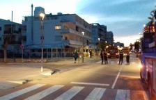La Policía Local ha evacuado de forma preventiva a las personas que viven en el edificio número 277 del Paseo Marítimo.