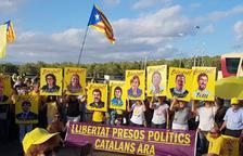 Nueva concentración para reclamar la libertad de los presos políticos a Mas Enric