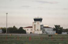 La torre de control de l'Aeroport de Reus, en una imatge d'arxiu.