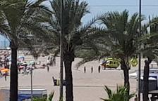 Un hombre de 78 años muere ahogado en la playa de Segur de Calafell