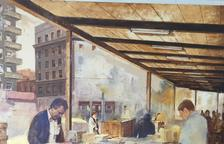 La Sala Portal del Pardo acoge la muestra de Julio García Iglesias, ganador del 2º premio del Concurso de pintura 2016