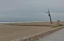 Imatge d'arxiu de la platja de l'Estany de Calafell.