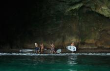 Rescaten un banyista a la cova del Llop Marí a l'Hospitalet de l'Infant