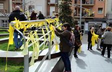 Investigan la actuación de los Mossos en la identificación de personas que retiraban lazos amarillos