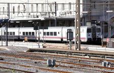 Imatge d'arxiu de la platja de vies de l'estació de Tarragona, el punt de partida d'aquesta actuació.