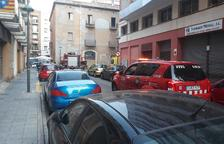 S'ensorra part del sostre d'un pis a Tarragona