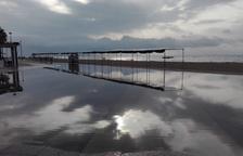 Les pluges causen inundacions i provoquen incidències a les carreteres del Camp de Tarragona