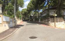 Les obres per canviar canonades de l'aigua a Cala Romana, a l'octubre