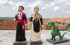 Los Gegants y la Dragonina de Constantí ya tienen su miniatura