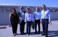 Cinco eurodiputados visitan a Carme Forcadell en la prisión de Mas d'Enric