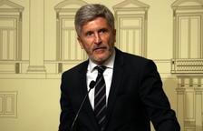 Grande-Marlaska adverteix que aplicaran el Codi Penal amb «tota contundència» a «l'independentisme violent»