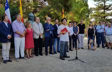 Ballesteros critica el «nacionalisme entès com a aïllament» en l'ofrena a Allende