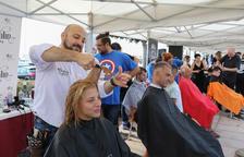 Barbers, perruqueres i cambrilencs s'uneixen contra el càncer infantil