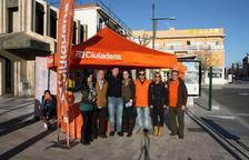 Imatge de l'última campanya de Ciutadans per les eleccions municipals.