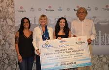Larisa González ha estat la guanyadora d'un creuerpel Mediterrani per a dues persones.