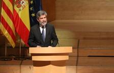 El president del TS i del CGPJ, Carlos Lesmes.