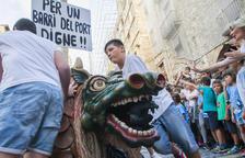 La Part Baixa s'omplirà de pancartes per reivindicar un «barri digne»