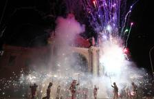 El foc tanca les festes de Misericòrdia