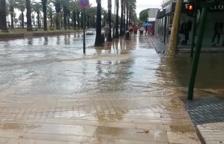 Les pluges tornen a causar estralls al Camp de Tarragona