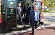 Èrica, el bus sin conductor, ya se mueve por Reus