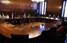 Imagen de la sesión de constitución de la comisión de investigación del Proyecto Castor, en el Parlament de Catalunya.