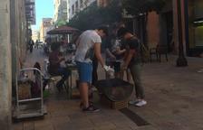 Veinte puntos de venta de castañas en las calles de Tarragona