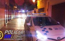 La Policia Local del Vendrell i els Bombers de la Generalitat es van desplaçar fins al lloc.